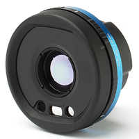 FLIR T300240, 17 mm, 24° X 18° angle of view, A4XX and A7XX Long Wave Infrared Lens, f/# 1.3, M.O.D. 150 mm, filter thread None for 7.5 to 13 µm wavelengths