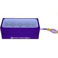 SmartVisionLights LMX75-625 Red (625 nm) Compact Linear Mini Bar Light, 80 X 31.5 X 35.5 (LXWXH mm)