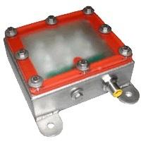 SmartVisionLights ODSW75-470 Blue (470 nm) Washdown Brick LED Spot Backlight, 86 X 76 X 51 (LXWXH mm)