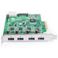 Basler 2000036233,USB 3.0 Card, PCIe x4, Fresco FL1100, 4 HC, 4 Ports