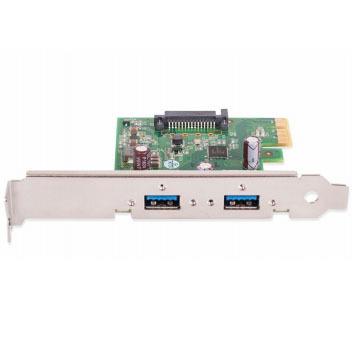 Basler 2200000084, USB 3.0 Card, PCIe x1, Renesas, 1 HC, 2 Ports