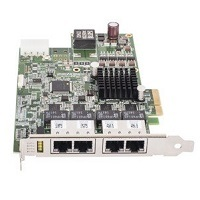 Basler Adlink GIE74 PCI-Express, GigE Vision POE, 4X PCIe framegrabber, 4 direct camera input(s)