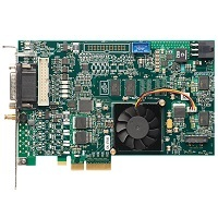 Euresys Coaxlink Mono, CoaXPress, One-connection CXP-6 Frame Grabber, PCIe 2.0 (Gen 2) x4 Bus: 625 MB/s Camera Bandwidth