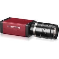 AVT Manta G-125C, 1/3 in. format, C-Mount, 1292 x 964, 30 fps, Color, CCD Progressive Scan, GigE Vision