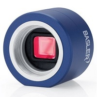 Basler Microscopy pulse 5.0 MP, 1/2.5 in. format, CS-Mount, 2592 x 1944, 14 fps, Color, CMOS Rolling Shutter, Ace USB 3.0