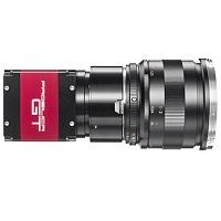 AVT GT5400C, 4/3 in. format, F-Mount, 5472 x 3084, 7.14 fps, Color, CMOS Global Shutter, GigE Vision POE