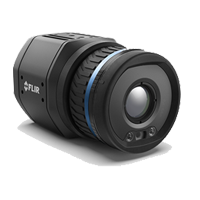 FLIR A700, P/N A700-24-Smart, P/N 85900-0000, PN T300312, 17mm lens T300240, 24° x 18° angle of view A7XX, 640 x 480, 30 fps, Long Wave Infrared , Microbolometer, Ethernet IP POE